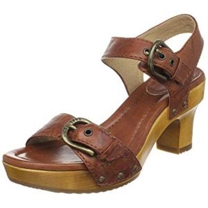 Frye Company Savannah Buckle Two Piece Clog